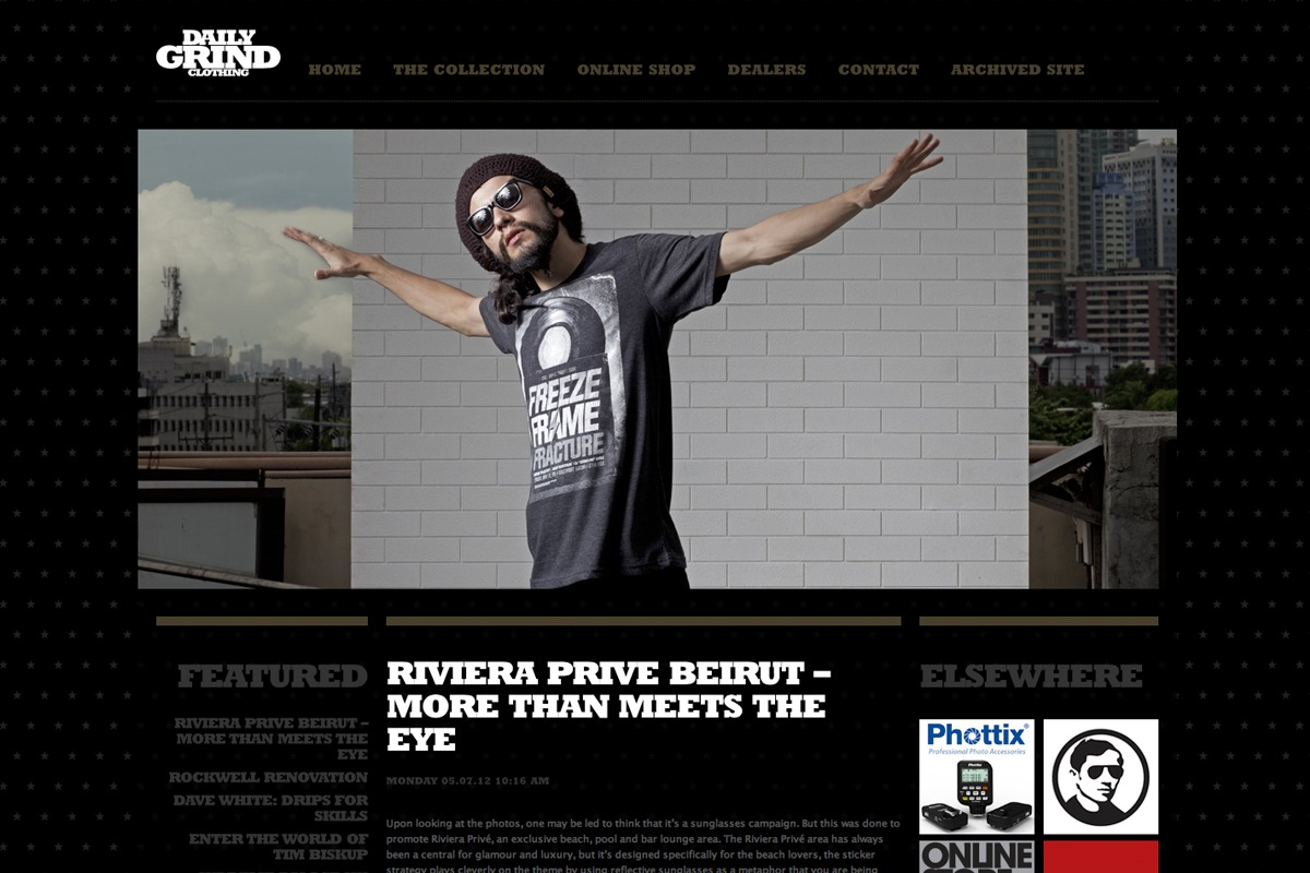 Daily Grind Website 1
