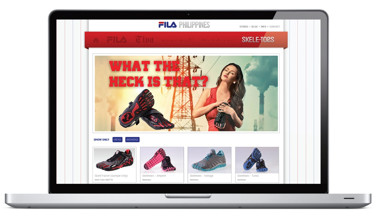 Fila Skeletoes Website 2