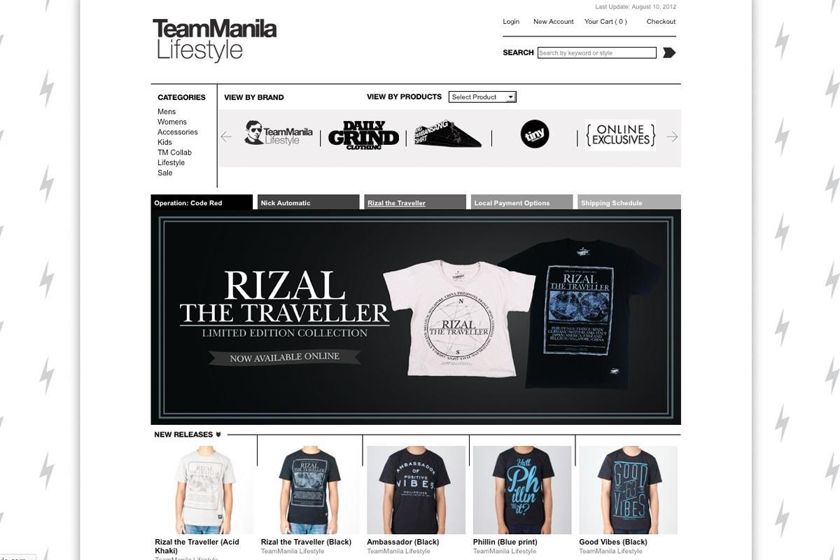 TM Online Store Web 1