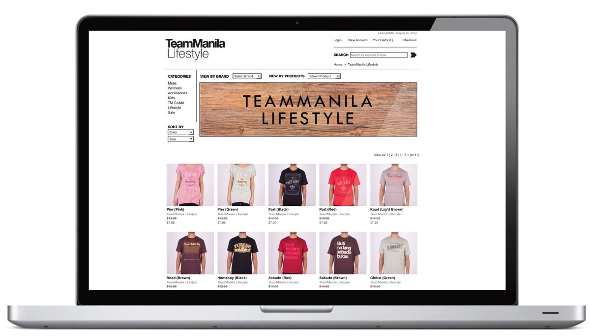 TM Online Store Web 2